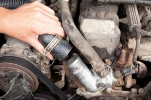 Radiator hose replacement and repair