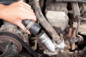 Radiator hose replacement and repair